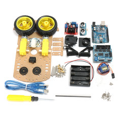 Ultrasonic Smart Tracking Robot Car Kit For Arduino